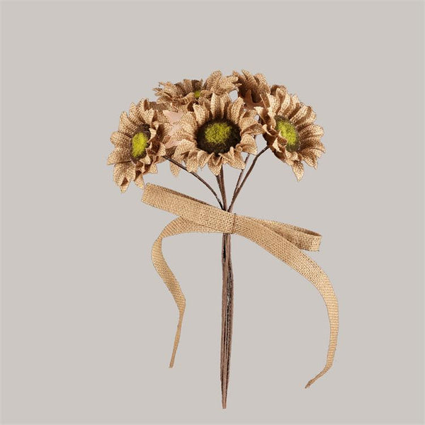 Bunch - Burlap Sunflowers