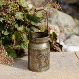 Country Living - Small MCilk Can with Handle
