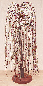 Burgundy Willow Tree, 24""