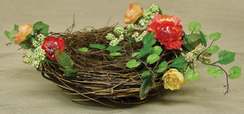 Mixed Tea Rose Bird Nest