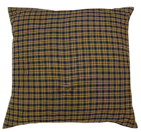 Navy Star Square Euro Sham