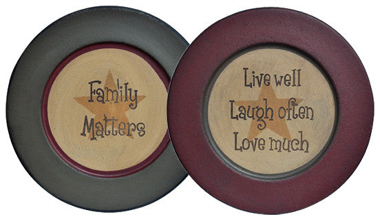 Family/Live Plates - Assorted