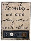 Family Fabric Sign