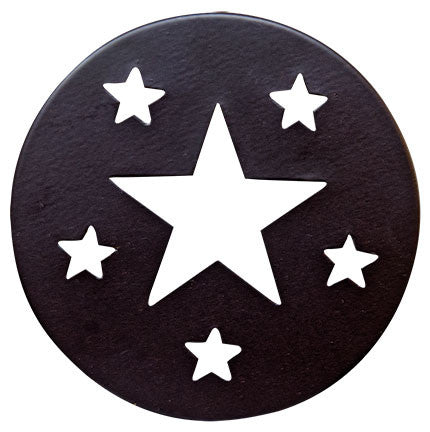 Star Mason Jar Lid