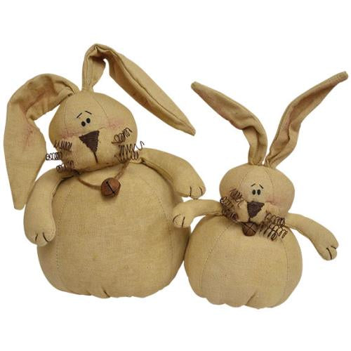 Roly Poly Bunnies, 2/Set