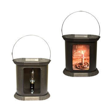 Black Fragrant Art Warmer