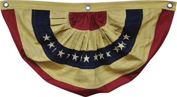 Aged Flag Bunting, 30""