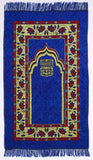 Prayer Rug Islamic Mat Sajjadah Janamaz Namaz Portable Carpet Perfect Ramadan Eid Gift