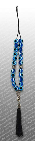 Turkish Car Hanging Evil Eye Beads with Tassel #19 - MiddleEasternMall