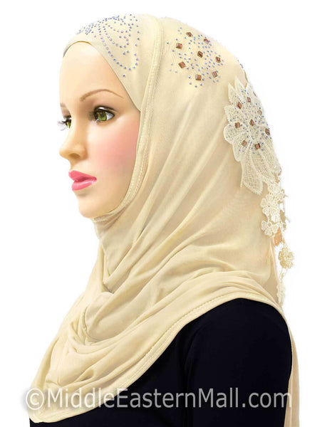 Set of 6 Amour Al-Amira Hijab Headscarves