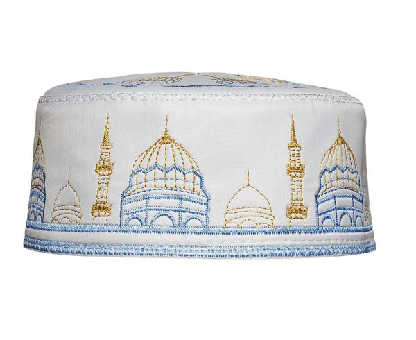 Men's Kufi with embroidery #2 - MiddleEasternMall