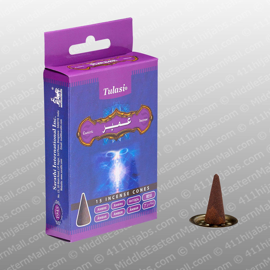Incense Cone Amber # 31 - MiddleEasternMall