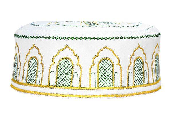 Men's Kufi with embroidery #8 - MiddleEasternMall