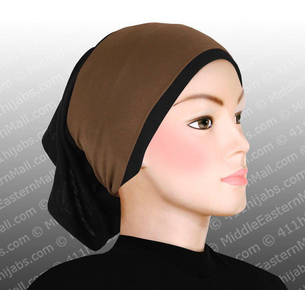 Lot of 18 Classic Poly Headbands in 10 Different Colors Black hijab cap is not included