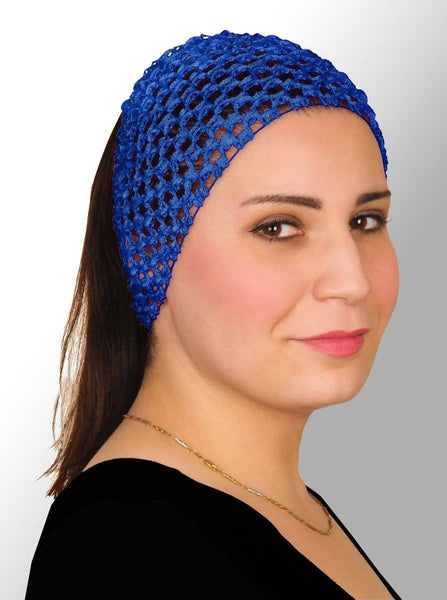 Wholesale Elastic Crochet Headbands 1 Dozen in 10 Assorted Colors