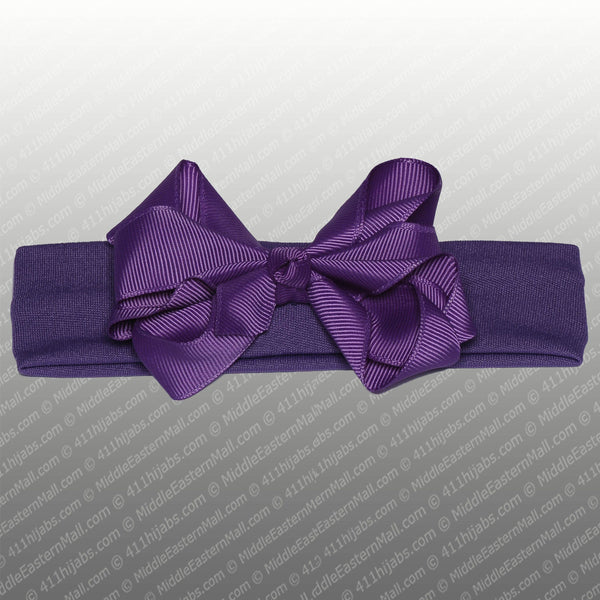 Wholesale Set of 9 Headband with Grosgrain Bow in 9 Different Colors