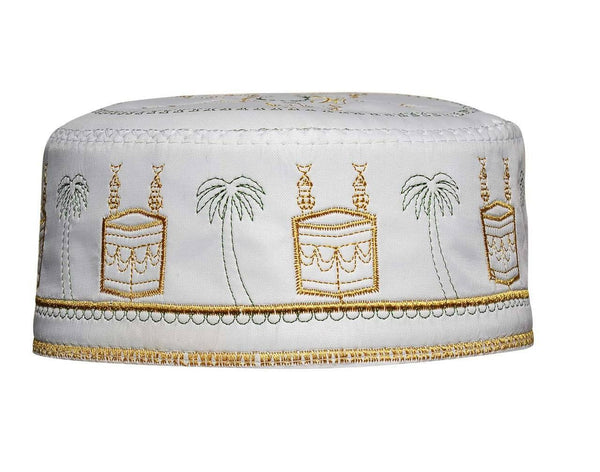 Men's Kufi with embroidery #3 - MiddleEasternMall
