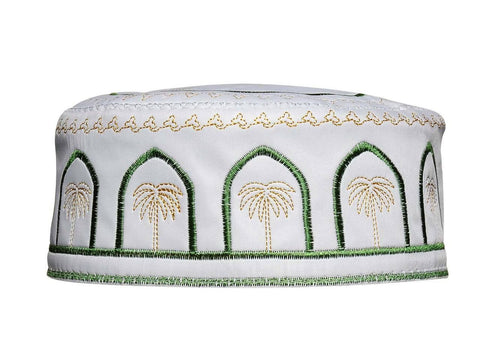 Men's Kufi with embroidery #5 - MiddleEasternMall