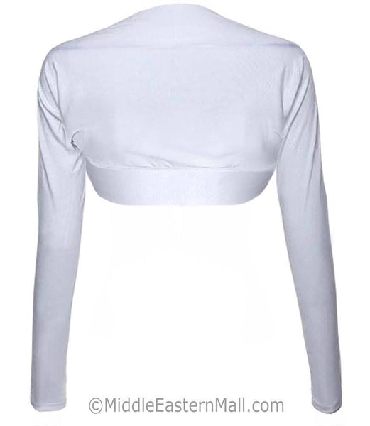 Women's Bolero Shrug in White