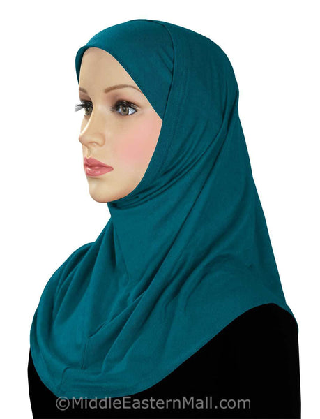Wholesale 24 Classic COTTON 2 piece Amira Hijabs