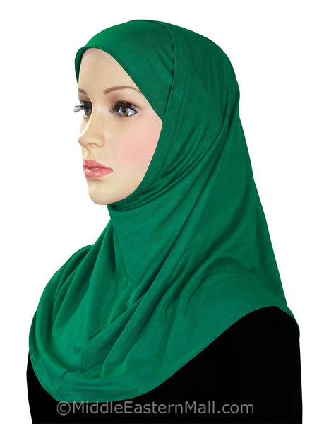 Wholesale 24 Classic COTTON 2 piece Amira Hijabs 24 colors
