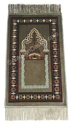 Child's Prayer Rug # 1 Sage Green - MiddleEasternMall
