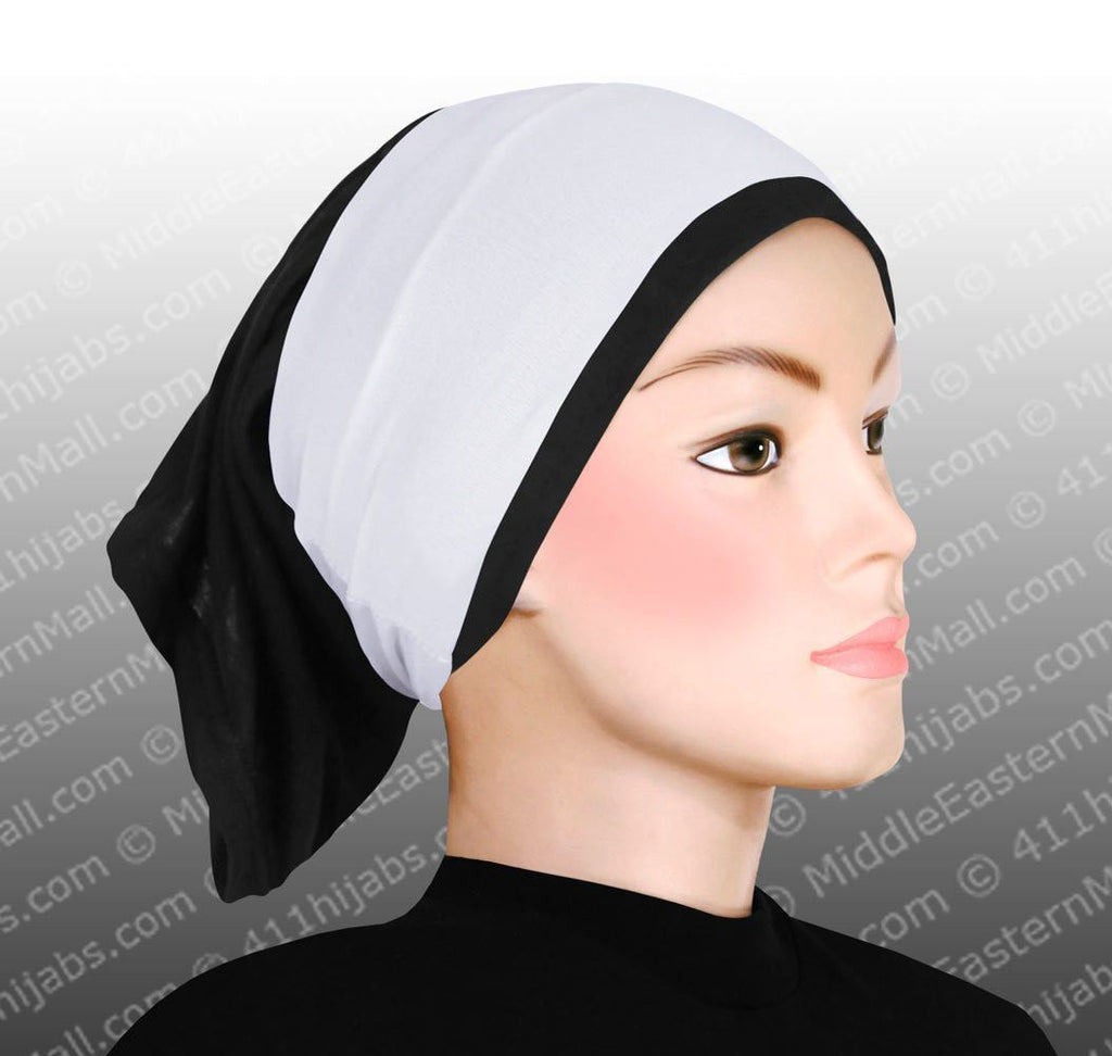 Classic poly headband in # 1 White - MiddleEasternMall