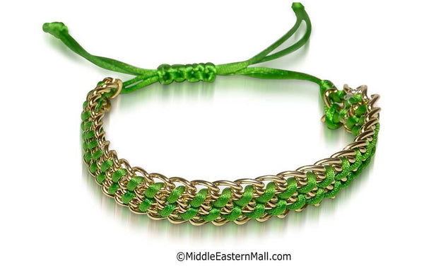 Cleo Bracelet #1 Green - MiddleEasternMall