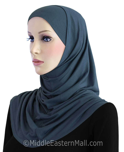 Wholesale 2 PC  COTTON Standard Amira Hijab 14 Different Colors