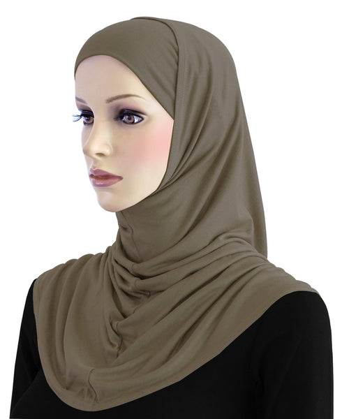 Khatib 2 piece COTTON Standard  Amira Hijab Head Scarf