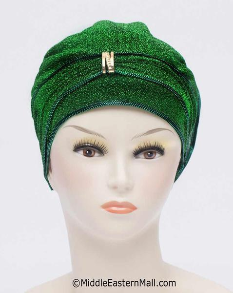Lot of 18 Small Dazzle Hijab Caps in 3 colors