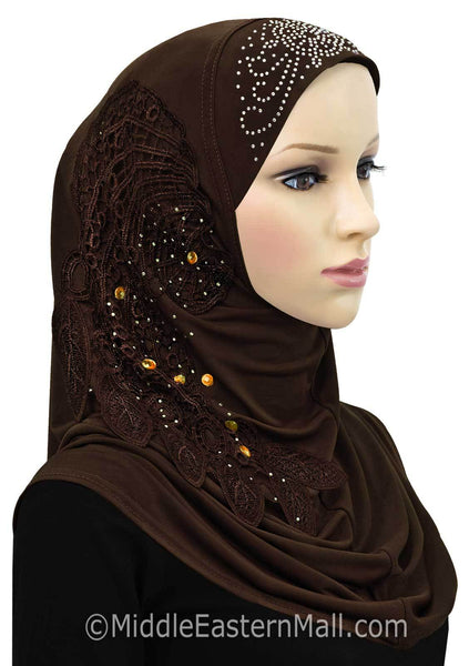 Dream Catcher Amira 1 piece Hijab Headscarf Available in 11 Colors