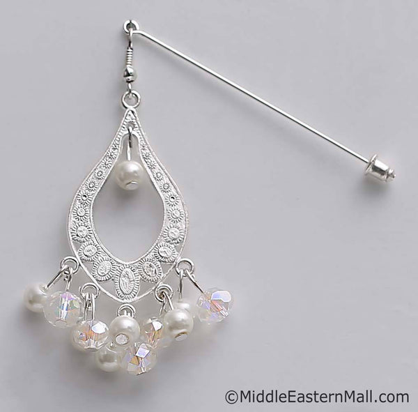 Essence of Lebanon Hijab Pin #1 in Silver