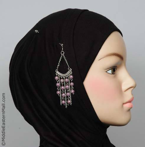 Byblos Fashion Hijab Scarf Pin in #11 Lilac