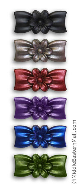 Wholesale Flower Bow Hijab Pins 48 Pin Set