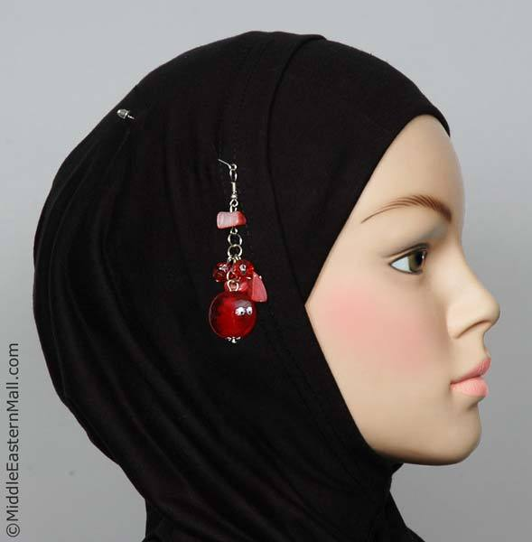 Amman Hijab Pin in #9 Red