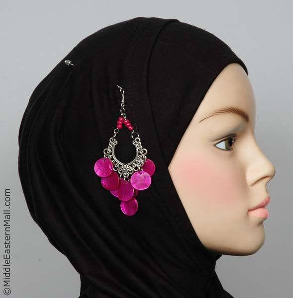 Rayyan Hijab Pin # 8 in Hot Pink - MiddleEasternMall