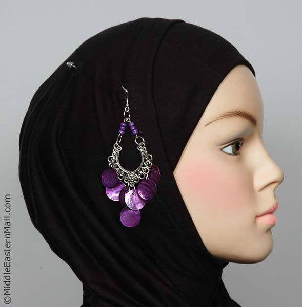 Rayyan Hijab Pin # 8 in Purple - MiddleEasternMall