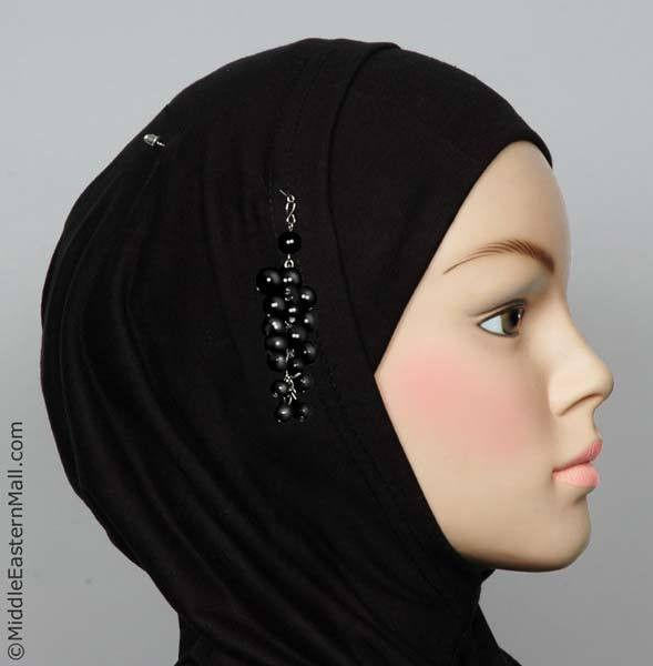 Primicia Hijab Pin # 4 in Black - MiddleEasternMall