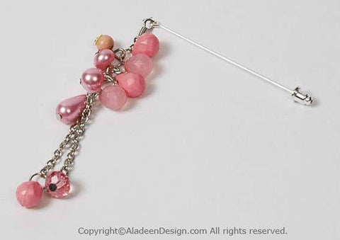 Ensemble Hijab Pin # 5 in Pink - MiddleEasternMall