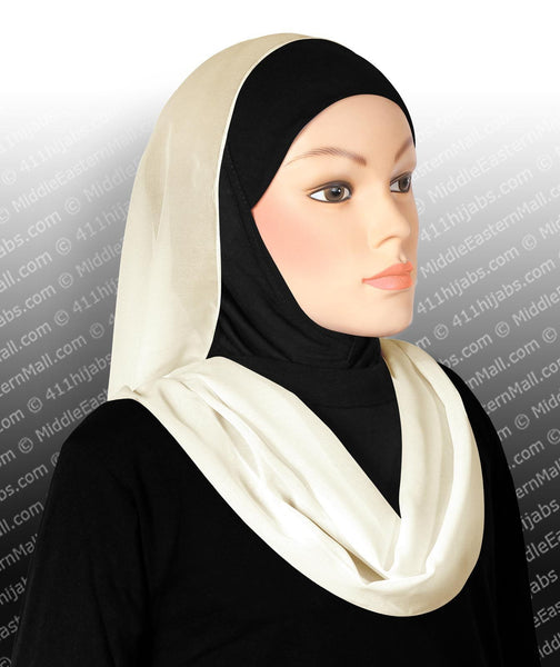 ivory Infinity Georgette Shawls
