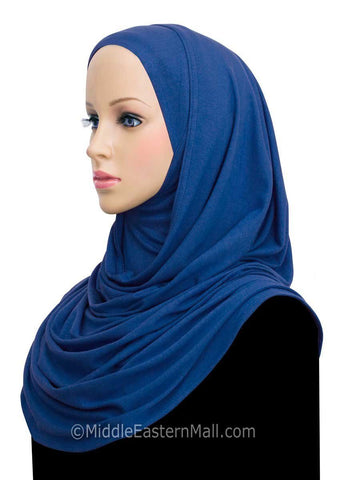 Khatib Jersey Cotton Hijab Wrap Head Scarf