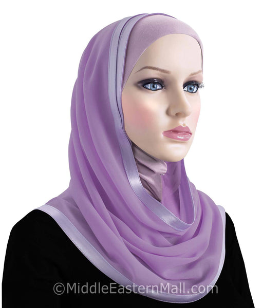 Khatib Kuwaiti Mona Hijabs Choose from 18 Colors