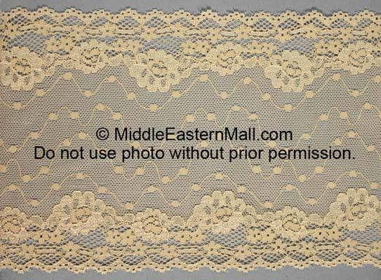 Lace Headband # 1 Beige - MiddleEasternMall