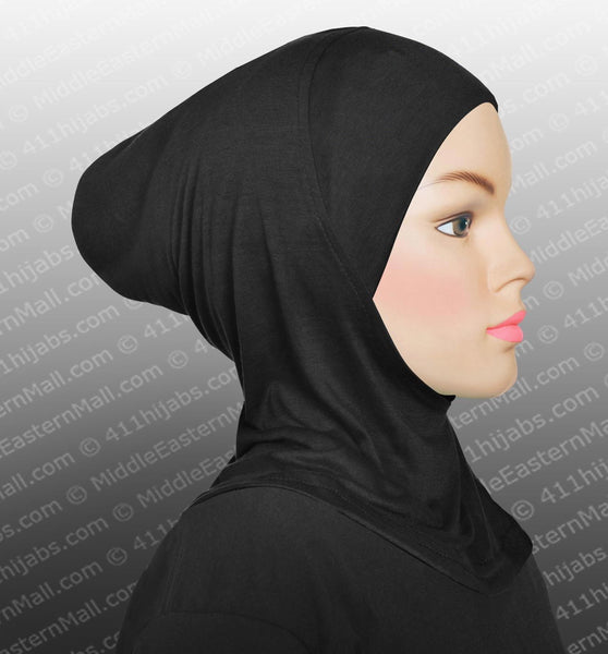 Ladies Ninja Hijab Cap Highest Quality Cotton Spandex Choose Plain or w/Rhinestones
