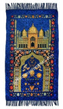 Wholesale Set of Six Adult Prayer Mats in 6 colors in a variety of designs