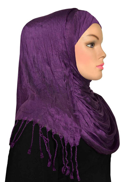 Wholesale 1 dozen Large Cotton Silk Shawls in 12 assorted colors