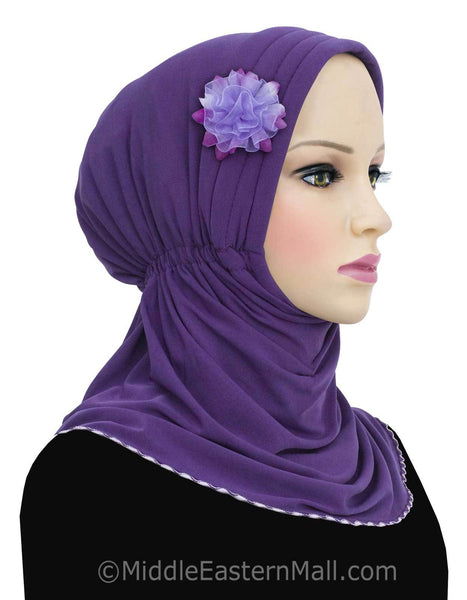 Rabia Turban Hijabs THE TURBAN IS OPENED AT THE FRONT