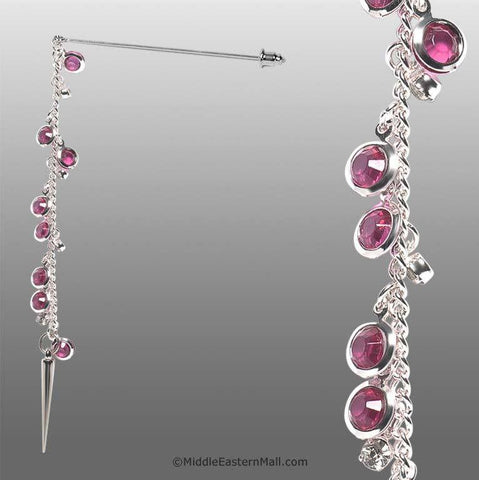Serene Hijab Pin # 11 in Magenta - MiddleEasternMall