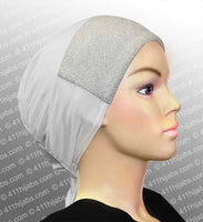 Sparkle Hijab Caps with Ties